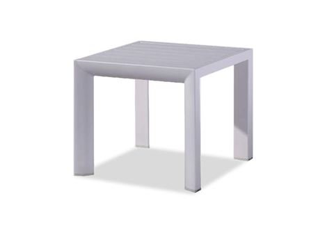 862AST5 - Square Matt Aluminum CoffeeTable