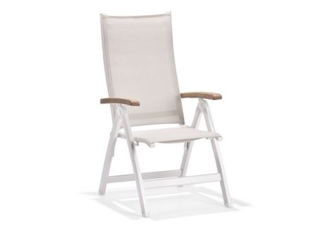860SP5 - White Relaxing Outdoor Chair