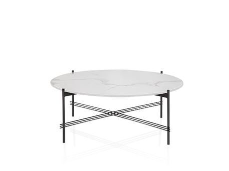 LC-042-1 - White Marble Top Center Table