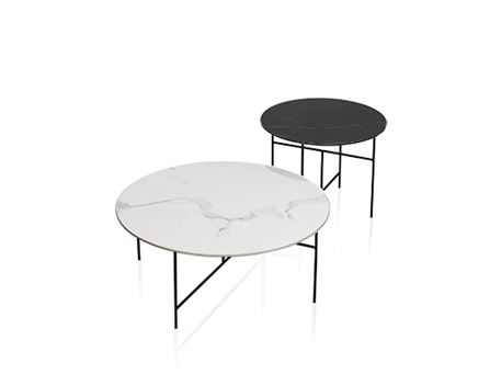 LC-043-1/2 - Marble Top Center Table