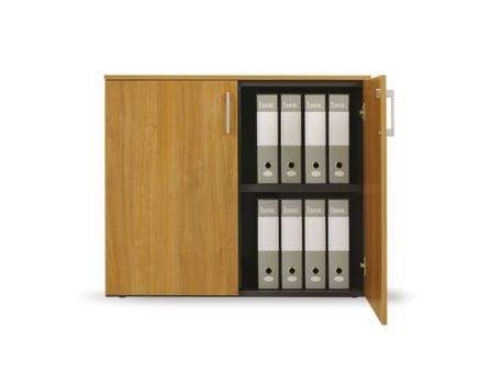 JOYLINE - Grey Office Low Cabinet