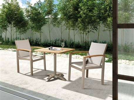 834TST1 - Outdoor Square  Table And Chairs