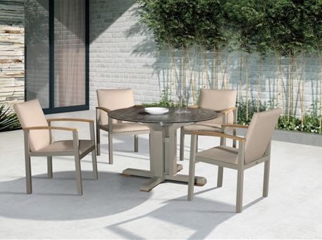 853CC1 - Outdoor Dining Chair.