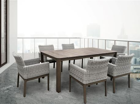 HA-1079 - Aluminum Outdoor Dining Table