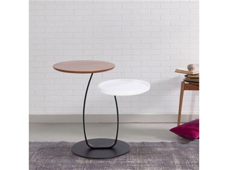 395 - 2 Levels Round Side Table
