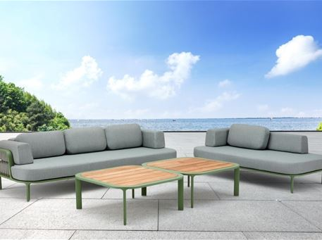 STINGS - White & Grey Outdoor Living Set