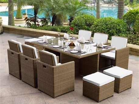 MLM-210023 - Outdoor Rattan Dining Set