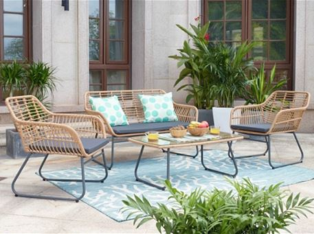 MLM-210359 - Outdoor Rattan Living Set