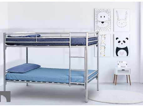 TROY - Metal Frame Bunk-bed