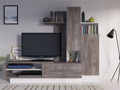 8080 - Modern Compact Tv Cabinet