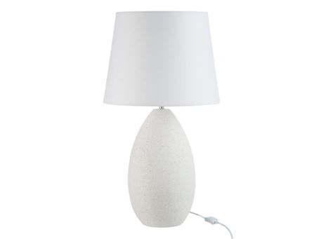 81797 - Table Lamp With White Ceramic Base