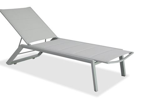 862SL1D - Aluminum Sun Lounge With Padded Seating