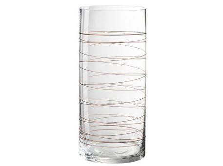 84377 - Cylindrical Candle Holder Vase