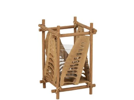 90266 - Bamboo Candle Holder