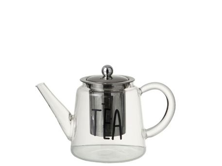 92643 - Clear Glass Tea Pot