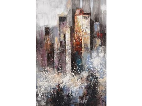 FR-W-G18426-1 - Hand-Made Contemporary Oil Painting Artwork