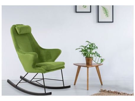 J1663 - Fabric Rocking Chair