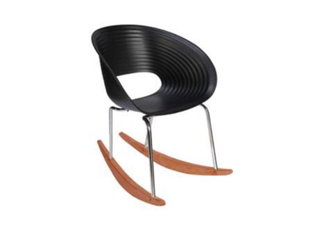59W - Black Rocking Chair