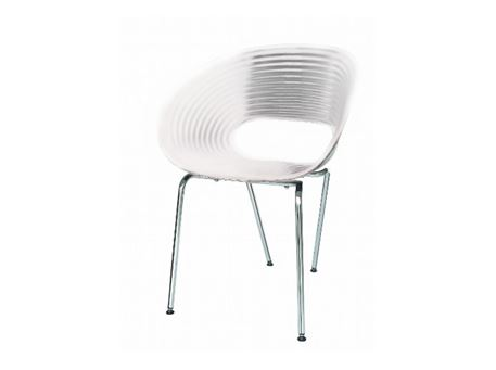 59 - White Dining Chair