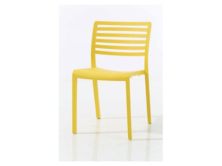 841A - Yellow Dining Chair
