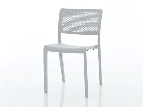 841C - Red Dining Chair