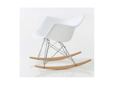1251W - White Rocking Chair For Kids
