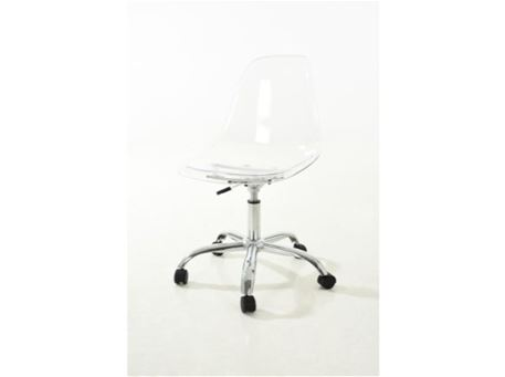 PC-231K - Clear Chair With Chrome Base