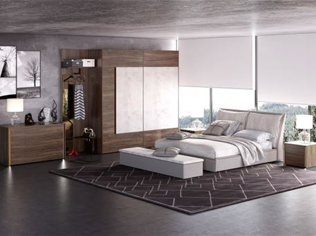 NIGHT - Queen Size Bedroom Set.