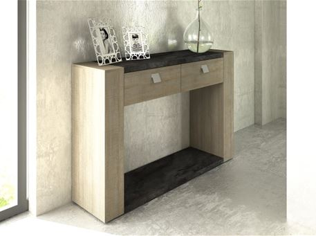 RITTA-1115 - Oak Wood Entrance Console