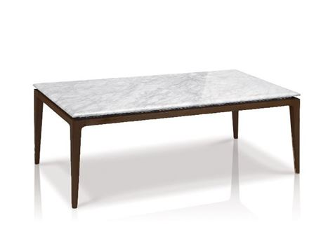 LC-007-1 - White Marble Top Center Table