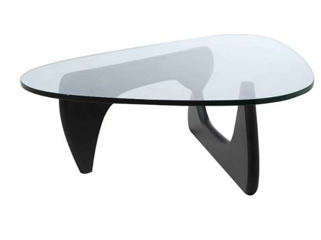 LC-017 - Clear Tempered Glass Top Coffee Table