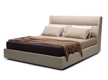 GABON - King Sized Bed With Upholstered Headboard