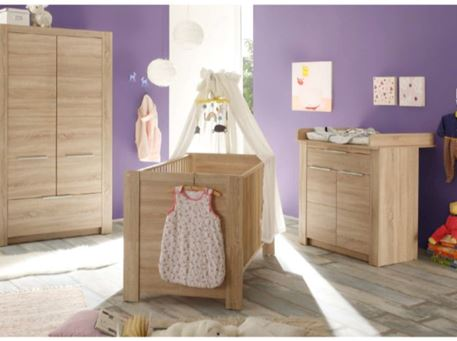 CARLOTTA - Full Set Natural Color Baby Bedroom