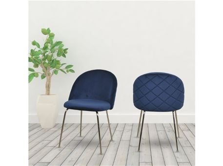 DR-301-1G - Modern Fabric Dining Chair
