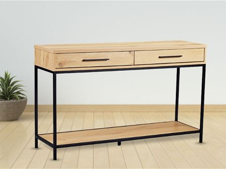 UA875-06 - Modern Simple Wood/Metal Console