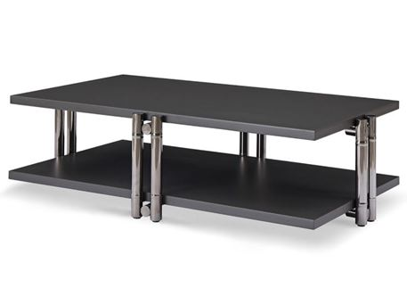 C19000-002 - Rectangular Dark Grey Center Table