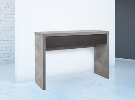 ESTONIE - Modern Simple Grey & Dark Oak Console