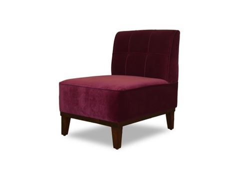 MILANA - Contemporary All Fabric Upholstered Armchair