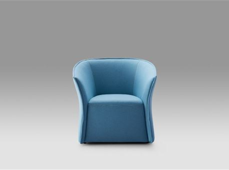 BENIN - Comfy Full Fabric Armchair