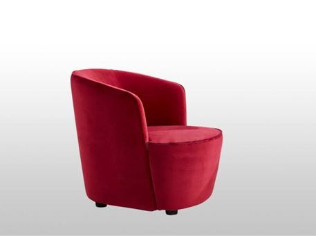 BERNE - Modern Comfy Curved Armchair