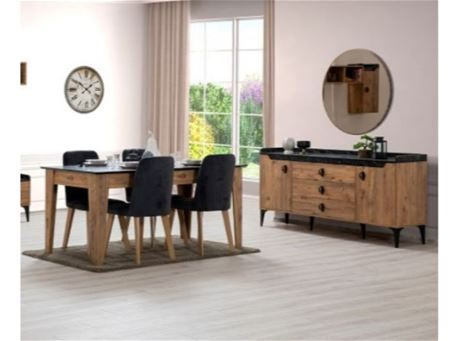 TORINO - Dining Room Set With Extendable Table