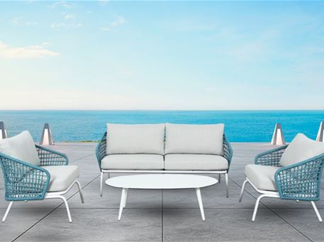 MIRANDA - Aluminum Based Outdoor Living Set