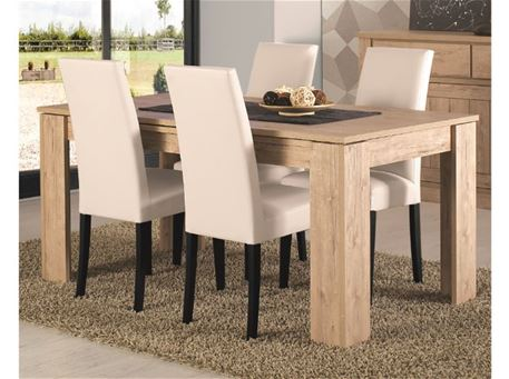 TEXAS - Oak Dining Table With Extension