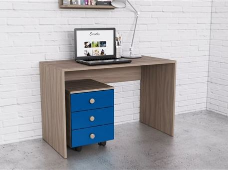 NEWYORK - Simple Studying Desk With Pedestal