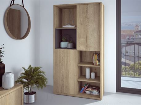 HALI - Light Oak Bookcase
