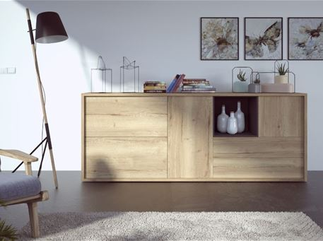 HALI - Light Oak Sideboard
