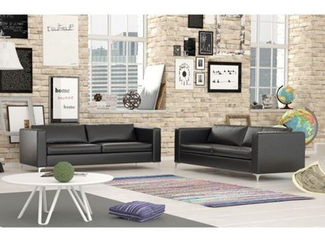 NEW ANDRES - Simple And Modern Leather Living Sofa