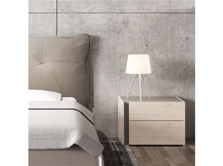 FATALE - White Bedside Table