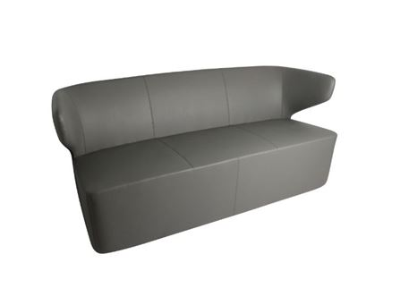 XR-E1870 - Dark Grey Three Seater Leisure Chair