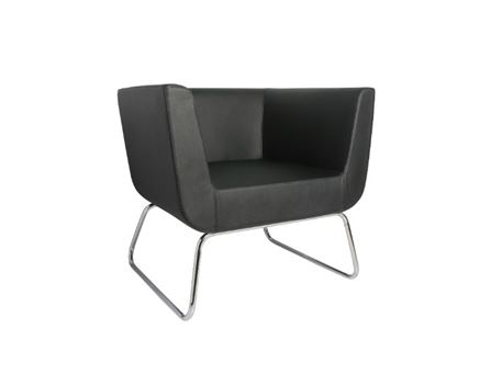 XR-U1868H - Black One Seater Leisure Chair